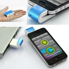 Wireless Mini Presenter Media Controller Fly Air Mouse for iPhone 4/5 – $18