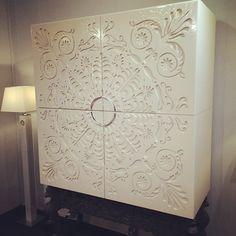 Amazing/unusual dresser @May Design Series #coleccionalexandra #thinktomorrow