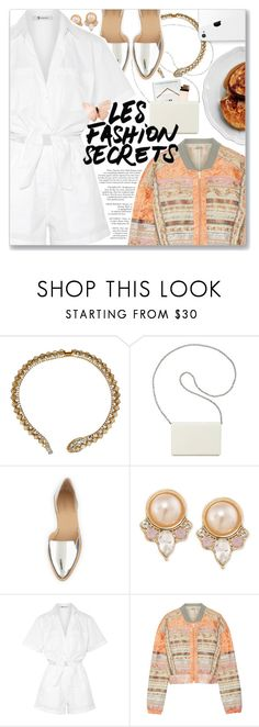 """""""Let's Get It On, Marvin Gaye"""" by blendasantos ❤ liked on Polyvore featuring Kenneth Jay Lane, Nine West, Loeffler Randall, Carolee, T By Alexander Wang, Etro and wardrobebasics"""