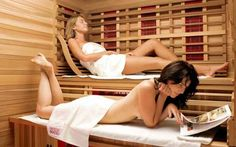 An infrared sauna is nothing but a type of sauna that uses light to create heat to the body. These saunas are sometimes even called far-infrared saunas