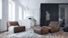 Interior MA – это прекрасная компактная квартира площадью всего лишь 55 квадратных метров от студии INT2 Architecture, расположенная в Москве, Россия.