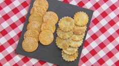 These savory biscuits are Paul's interpretation of the signature challenge in the Biscuits episode of Season 3 of The Great British Baking Show.