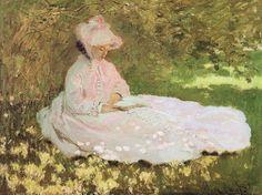 Claude Monet - Springtime 1872