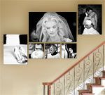 This would be great for my stairs!!   Bayphoto.com has awesome stuff!  I love wall clusters!