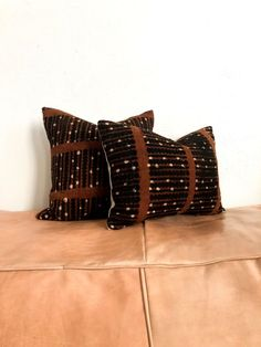 Mudcloth Pillowcover Throw Pillow Tribal Pillow Brown Toss Pillows, Cushions, Trending Outfits, Rugs, Handmade Gifts, Vintage, Etsy, Brown, Throw Pillows