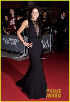 Michelle Rodriguez: Hollywood Costume Gala