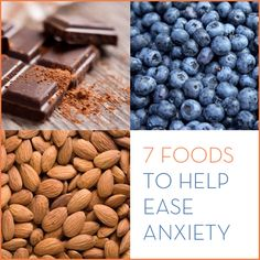 Feeling anxious? Try eating these 7 foods that will help boost your mood. All contain key nutrients that affect your bodies production of stress.