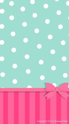 Cute bow cocoppa iphone wallpaper