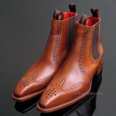 Jeffery West Chelsea Brown Rosewood