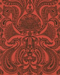 cole and son malabar Very cool wallpaper... Like the warm color too.