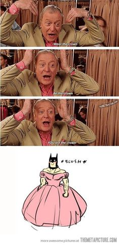 Ohh, so THAT'S why Bruce Wayne had to stop being Batman. I get it now.