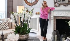 When she was at school, says hugely successful interior designer Katharine Pooley, she wanted to be a vet. Now 49, she has designed everything from cottages to castles — one of which, Forter Castle in Scotland, she owns. Currently giving another castle a makeover for a client in Buckinghamshire, Pooley is also in the throes of designing a 1,000,000sq ft hotel in China.