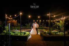 Night time country garden - Country wedding photography - tom halliday photography - uk wedding photography - landscape photography - night time photography – sky photography – bridesmaid photography – groomsmen photography – fairy lights – cigars – campervan – night time photography – star photography
