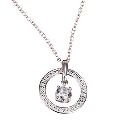 Avon: Sterling Silver Eternal Spark Necklace with CZ Accents - youravon.com/jelenamarshall