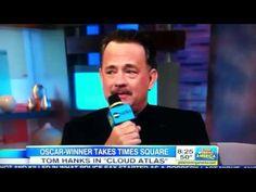 Opps! Tom Hanks drops an F-Bomb on Good Morning America!