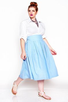 New Post Jibri debuts new spring/summer collection http://stylishcurves.com/jibri-2014-summer-plus-size-collection/