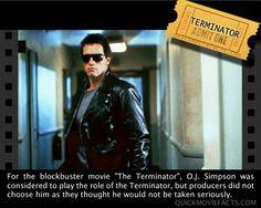 Movie Facts- Terminator.