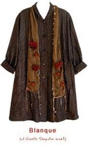 ... Koos ~ October 2008 Newsletter Blanque with Giselle Shepatin scarf