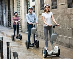 Segway Foot and Ankle Injuries:  Segway Tour Woes: Ankle sprains and even stress fractures are common foot and lower leg injuries associated with riding Segways.