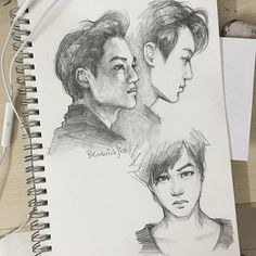 Midnight sketches #exo #kai #jongin #fanart #sketch