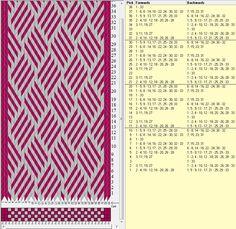 33 tarjetas, 2 colores, repite cada 10 movimientos // sed_430 diseñado en GTT༺❁