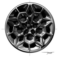 car wheel design circular rose window like polygonal pattern, pentagonal central symmetry, petals Truck Wheels, Wheels And Tires, Ford Mustang Car, Mustang Wheels, Ford Mustangs, Rims For Cars, Car Rims, Bond Cars, Truck Accessories