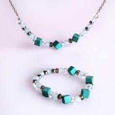 European African Beads Jewelry set - C12