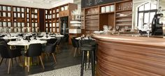 Bross arreda il Restaurant Lazare a parigi