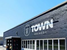 Industrial Signage, Church Interior Design, Concept Board, Hospitality Design, Painted Signs, Office Ideas, Brewery, Graffiti, Retail