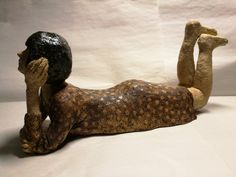 Porin tyttö - Girl 4, ceramic, Anne Kimiläinen 2018 #ceramic #keramik #arts #sculpture #sculptor #artiste #clay #ceramics #keramiikka #ceramiclove #girl #tyttö #savi #contemporaryceramic #ceramicsart #cermicstudio #ceramist #handmade #handmadeceramics #handmade #ceramique #ceramics #ceramica #陶器 #صناعة الفخار #keramiikka #κεραμικά