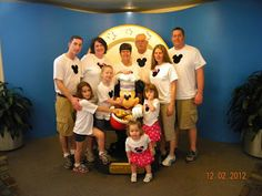 Planning for Disney World with a party of 10!