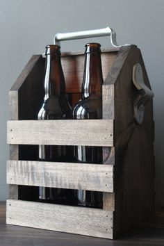 Handcrafted Beer Carrier for 22oz. bottles bachelor par NestWell-26€