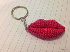 So Many Things to Do, So Little Time: Lips Amigurumi Free Pattern
