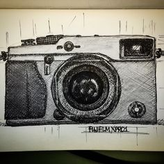 Fuji Doodles #cameraporn #camera #doodle #drawing #sketch #sketchbook #penandink #fuji #fujifilm #travelshooteditrepeat #xphotographer #xpro #lifeasaphotographer