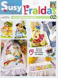 Pintura Tecido - Coleção Susy - Fraldas - 2 - carlosdanielluise - Álbuns da web do Picasa