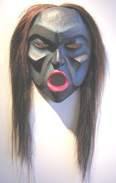 Native American Skookum Mask