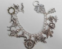 Game of Thrones Loaded Charms Bracelet