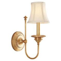 Williamsburg Yorktown Aged Brass One Light Wall Sconce Hudson Valley 1 Light Armed Candle