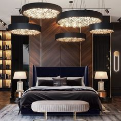 The way you decorate your home is somehow similar to choosing beautiful clothes to wear on a daily basis. An impressive interior decoration of your home or office is essential for your own state of mind, if nothing else. Luxury Bedroom Design, Master Bedroom Interior, Modern Master Bedroom, Luxury Interior Design, Luxury Home Decor, Luxury Homes, Bedroom Decor, Bedroom Bed, Interior Decorating