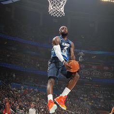LeBron James 2012 All-Star Game Photo - #NBA #basketball