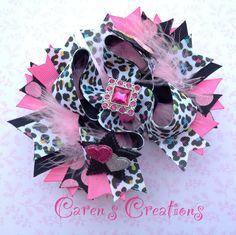 Leopard diva ott bow :)