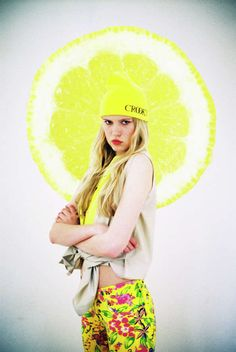 Citrus-Infused Fashion Shoots - Alena Jascanka Photos