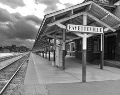 Fayetteville,NC train station