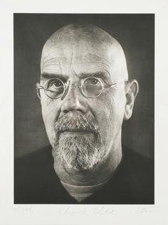 Chuck Close - Self-Portrait/Photogravure, Print