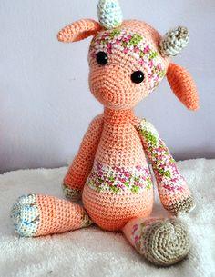 Ravelry: Emily the Giraffe Modification pattern by Knotwork Sanctuary