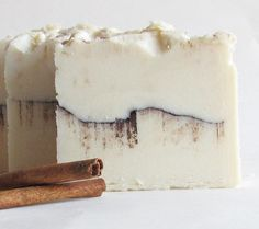 Cinnamon Bun Cold Process Soap by SouthernTwistedSoaps on Etsy, $6.00