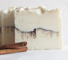 Cinnamon Bun Cold Process Soap