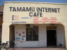 Internet Cafe in Malawi