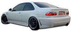 1992-1995 Honda Civic 2 / 4DR Duraflex B-2 Rear Bumper Cover - 1 Piece