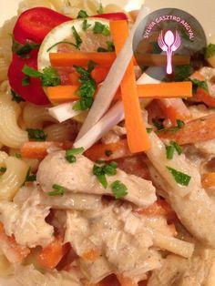 Esterházy csirkeragu tésztával – Sylvia Gasztro Angyal